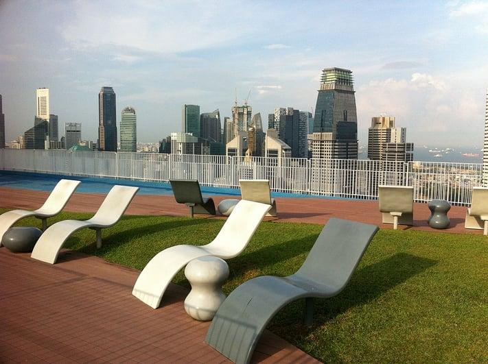 Pinnacle@Duxton SkyBridge Singapore best night view