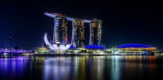 marina bay sands best night view singapore