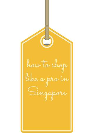 shopping in singapore