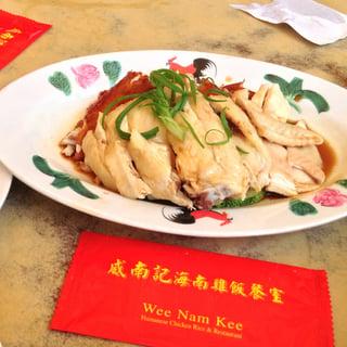 wee nam kee best chicken rice in singapore